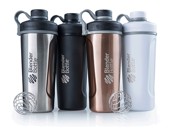 Премиум-шейкер BlenderBottle Radian Insulated Stainless Steel