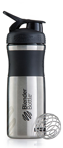 Спортивная бутылка Blender Bottle SportMixer Stainless Steel