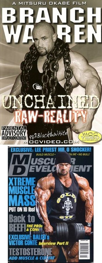 "Branch Warren ""Unchained Raw-Reality"""