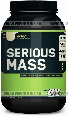 Купить Optimum Nutrition, Serios Mass (1364гр)