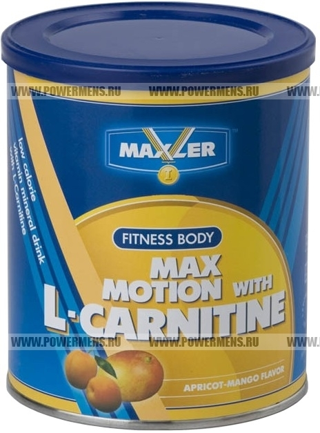 Купить Maxler, Max Motion with L-Carnitine (500гр банка)