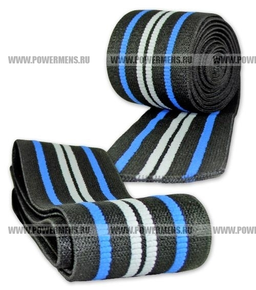 Купить TITAN Titanium New&Improved Knee Wraps, коленные бинты (длина 2,5 м, WPC/WPO)