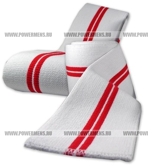 Купить TITAN Red Devil New&Improved Knee Wraps (длина 2 м)