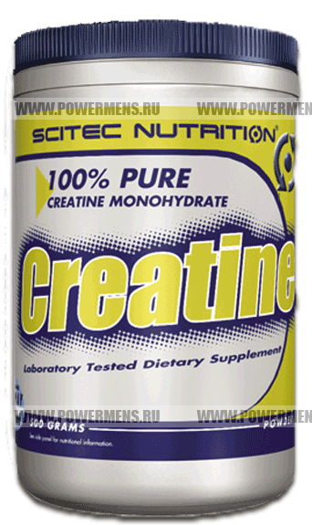Купить Scitec Nutrition, Creatine 100% Pure (500гр)