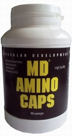 Купить Muscular Development, Amino Caps (90 капс)
