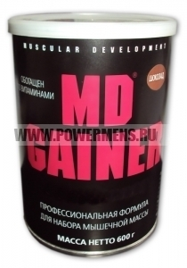 Купить Muscular Development, MD Gainer (600гр)