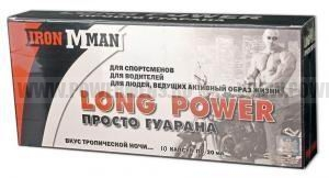 Купить IRONMAN, Гуарана Long Power (10 ампул)