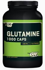 Optimum Nutrition, Glutamine Caps1000mg (240 капс)