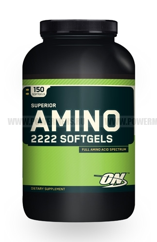 Купить Optimum Nutrition, Superior Amino 2222 SOFTGELS (150 капс)