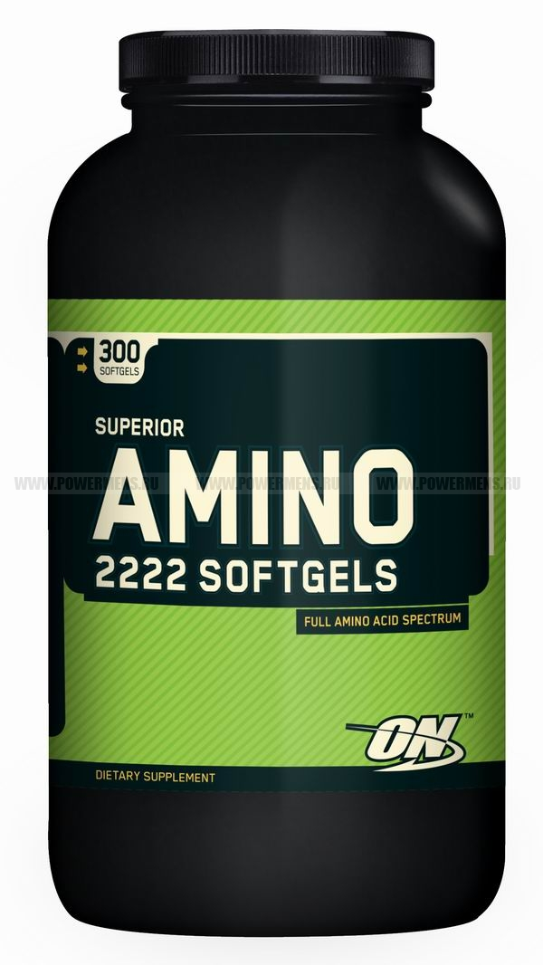 Купить Optimum Nutrition, Superior Amino 2222 SOFTGELS (300 капс)