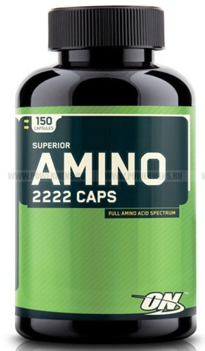 Заказать Optimum Nutrition, Superior Amino 2222 Caps (150 капс). распродажа