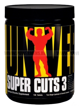 Купить Universal Nutrition, Super Cuts 3 (130 таб)