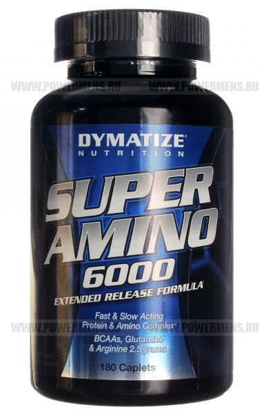 Купить Dymatize Nutrition, Super Amino 6000 (180 таб)