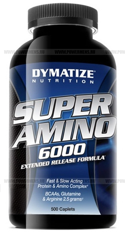 Купить Dymatize Nutrition, Super Amino 6000 (500 таб)