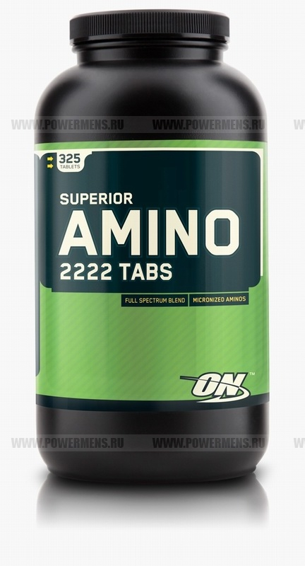 Заказать Optimum Nutrition, Superior Amino 2222 Tabs (320таб). распродажа