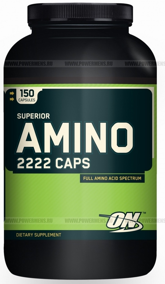 Купить Optimum Nutrition, Superior Amino 2222 Caps (150 капс)