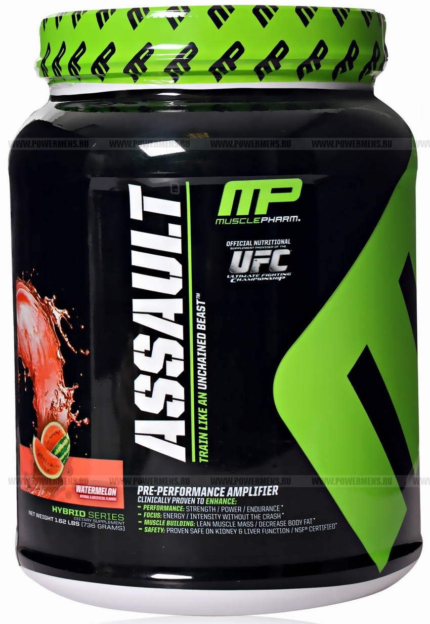 Купить MusclePharm, Assault (736 гр)