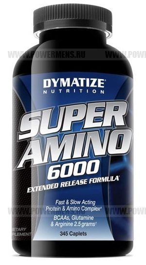 Купить Dymatize Nutrition, Super Amino 6000 (345 таб)