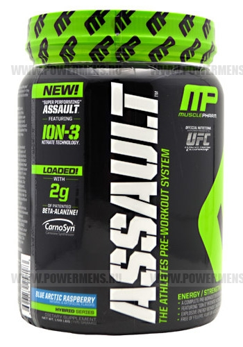 Купить MusclePharm, NEW Assault (435 гр) + 20% бесплатно