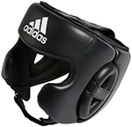 Adidas Training Head Guard, Шлем для бокса, арт.ADIBHG031 (черный)