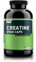 Optimum Nutrition, Creatine 2500 Caps (200����)