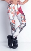 Labellamafia Legging Pink and White Gardene, Леггинсы женские арт.FCL11318