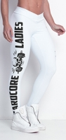 Labellamafia Legging Hardcoreladies White, Леггинсы женские арт.CL304
