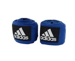Adidas, Бинты для бокса AIBA NEW RULES BOXING CREPE BANDAGE арт. ADIBP031 (синие)