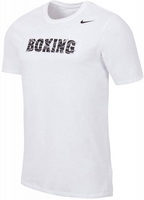 Nike Футболка Boxing Dri-fit SS Tee Version 2.0 (белый)