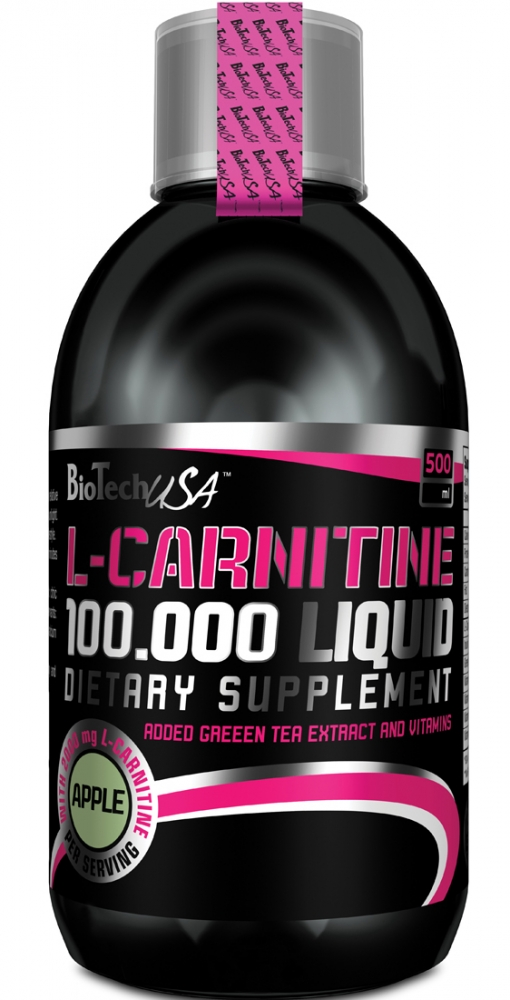Купить BioTech USA, L-Carnitine Liquid 100 000 (500ml)